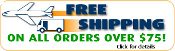 Free Shipping on all orders over $75- Check out the great products at VidaCura.com
